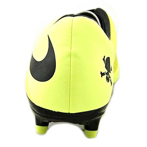 Nike Hypervenom Phelon Fg Mens Scarpe Da Calcio Vibrante Giallo-nero Metallico Argento-volt