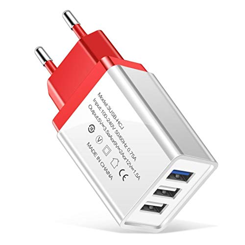 Presa Caricatore Portatile USB 3 porte