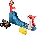 Hot Wheels-GCG00 Monster Trucks Pista Supersalto Big Air Breakout con Veicolo Incluso, Gioco per Bambini di 4 + Anni, Multicolore, GCG00