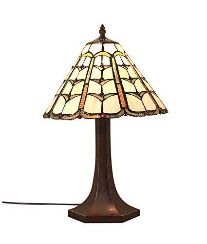 Graf von Gerlitzen Tiffany Stand Tisch Lampe Antik Style Tischlampe Tiffanylampe GN13Anja (Antike Lampe Stand)