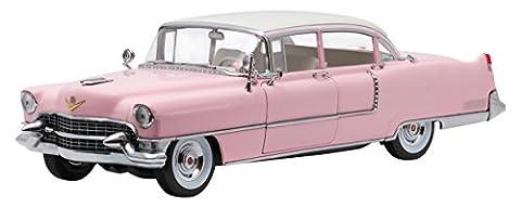 Greenlight Collectibles - 12950 - Cadillac - Fleetwood Serie 60 Elvis Presley - 1955 - Rose/Blanc - Échelle - 1/18
