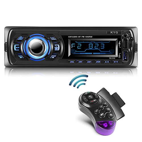 Radio de Coche Autoradio Bluetooth Manos Libres Radio Estéreo de Coche Apoyo...