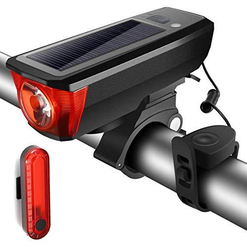 SGODDE Lampe de Vélo Multifonctionnel 3...