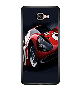 printtech Car Superfast Back Case Cover for Samsung Galaxy A9 (2016)