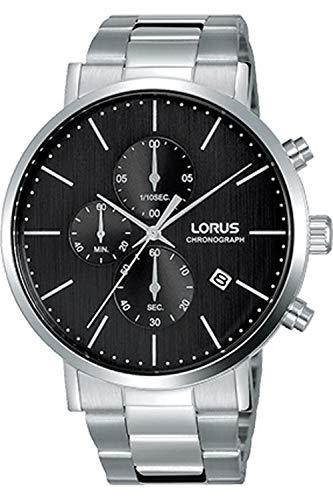 Lorus Classic Reloj para Hombre Analógico de Cuarzo con Brazalete de Acero Inoxidable RM317FX9