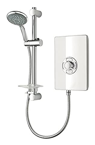 Triton Collection II 8.5kW Electric Shower - White