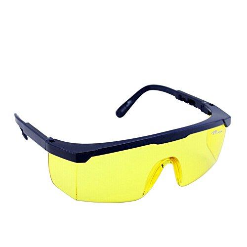 UV-Schutz Sicherheit drinnen und draußen Gläser, anti-fog Brillen, Hohe Stoßfestigkeit/Scratch/Staub Sand Proof, verstellbar Frames & leichte Brille für Heimwerker, Home Project, Motorrad, Ski, Labor