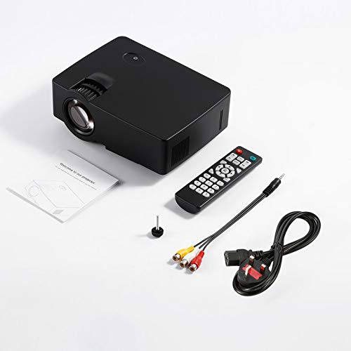Clover E08 Projector The Same Screen Home Cinema Movie Portable Projectors 1000:1 Clover Electronics Usb