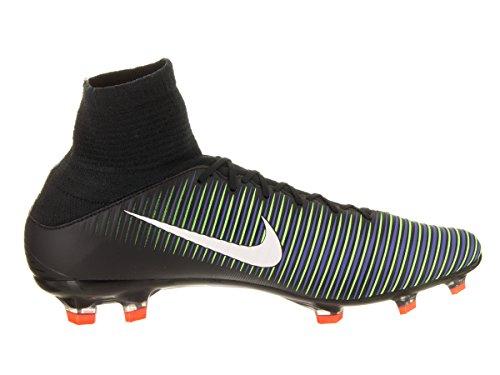 Nike 831961-013, Scarpe da Calcio Uomo Nero/Verde