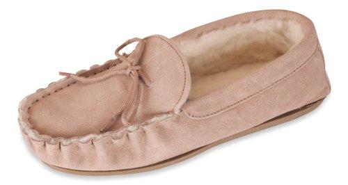 Nordvek, Pantofole bambini, Marrone (Cioccolato), 3 UK
