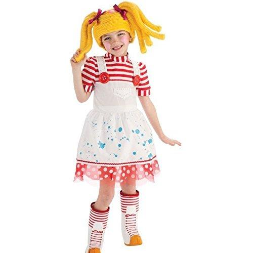 Lalaloopsi Spot Splatter Splash Puppe Girl Mädchen Kinder Fasching Karneval Kostüm Costume 92-104