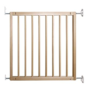 BabyDan No Trip Beechwood Safety Gate Safetots One handed operation Made up of two panels which are self expandable Fits a standard width: 63.5cm - 105.5cm 4