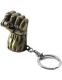 Discount4product Metal Hulk Hand Keychain