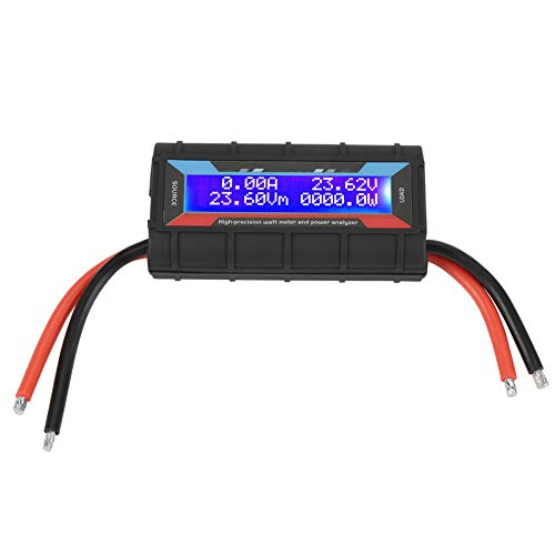 4,8 V ~ 60 V Watt Meter 130A Hohe Präzision Spannung Amp Meter Power Analyzer Multi Tester -