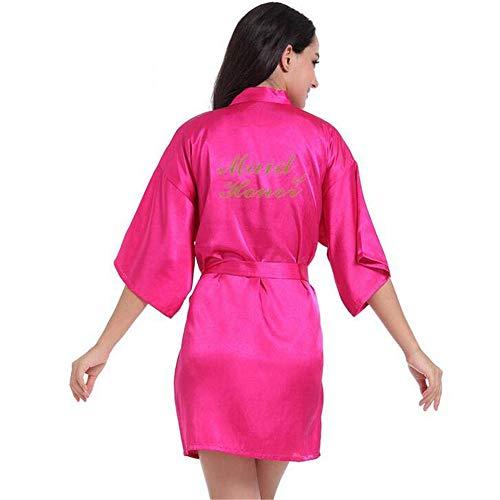 Sleeve Bathrobe Nightgownsilky Zsdgy L K Women's Pajamassilk Cardiganmakeup Robeportable XN8n0wOPk