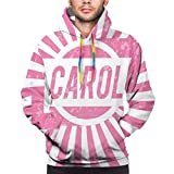 Photo de Men's Hoodies Sweatershirt,Graphic Popular Name Design for Girls Pastel Colors Children Kids Birthday,3D Printing Long Sleeve Casual Sweatershirt Tops,Size XXX-Large par Hwgss