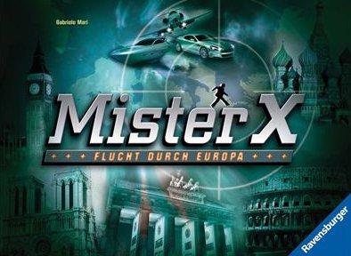 Ravensburger 26507 - Mister X, Flucht durch Europa Scotland Yard Brettspiel