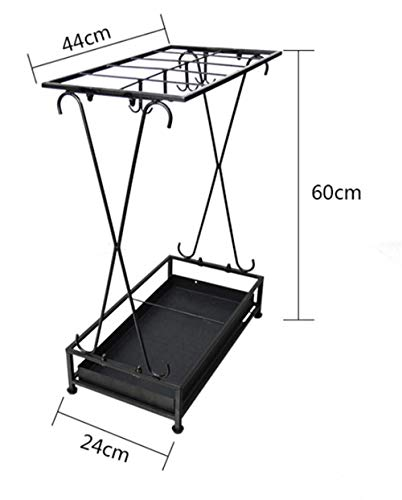 YHEGV Fashion Simple Creative Forged Umbrella Stand