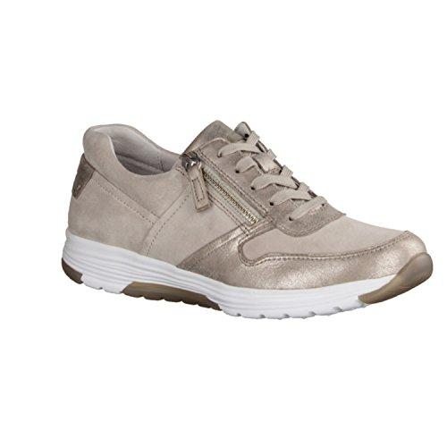 GABOR rollingsoft – Damen Halbschuhe – Beige Schuhe in Übergrößen