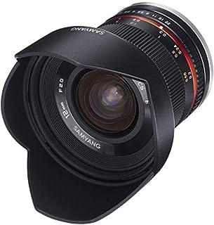 Samyang 12/2,0 Objektiv APS-C MFT manueller Fokus Fotoobjektiv, Weitwinkelobjektiv schwarz (B00MQH8WL4) | Amazon Products