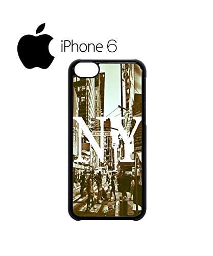 New York NY Retro Vintage Swag Mobile Phone Case Back Cover Hülle Weiß Schwarz for iPhone 6 White Weiß