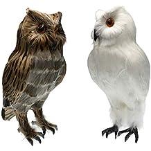 2 St/ück Vogelschreck Eule