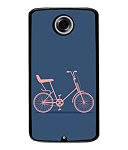 PrintVisa Designer Back Case Cover for Motorola Nexus 6 :: Motorola Nexus X :: Motorola Moto X Pro :: Google Nexus 6 (Wallpaper Sport Road Wheel Pathway Pedal)