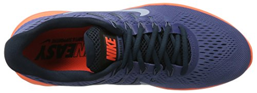 Nike Lunarglide 8, Scarpe da Corsa Uomo Multicolore (Blue Moon/light Armory Blue-hyper Orange)
