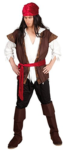 Generique Piraten-Kostüm für Herren ()