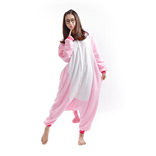 Imagen de darkcom  disfraz de animal unisex para adulto sirve como pijama o cosplay sleepsuit de una pieza unicornio alternativa