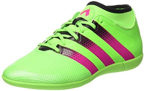 Scarpone Adidas Da Uomo 16.3 Primemesh In Scarpe Da Calcio Verde / Rosa / Nero (versol / Rosimp / Negbas)