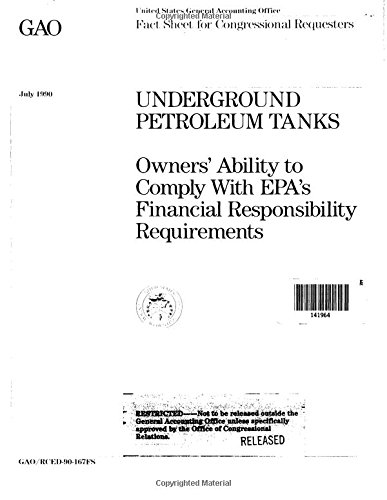 Underground Petroleum Tanks: Owners' Ability to Comply With EPA's Financial Responsibility Requirements - Petroleum Tank