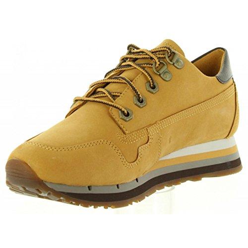 Antwerp Air, Zapatos de Cordones Oxford para Mujer, Marrón (Wheat), 38 EU Timberland