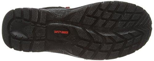 Safety Jogger Falcon Falcon Unisex-Erwachsene Sicherheitsschuhe, Mehrfarbig (Schwarz/Grau 335), EU 40 Multicolore - Couleurs mélangées