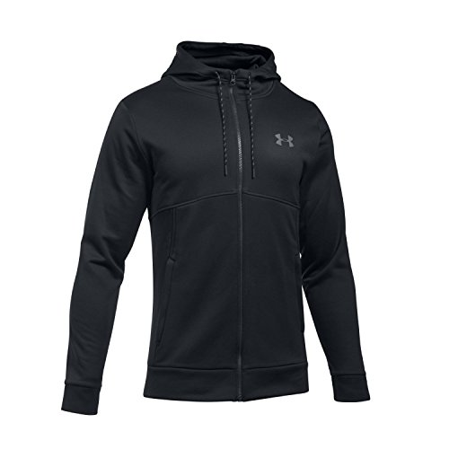 Under Armour Herren Funnelneck Longsleeves, Black, XS