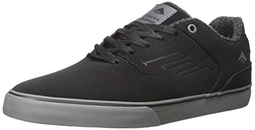 Emerica The Reynolds Low Vulc Herren Skateboardschuhe Black/grey