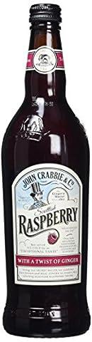 John Crabbies Raspberry Ginger Beer ,70 cl, Pack of 6