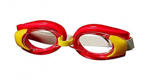 Best Sporting Schwimmbrille Stickleback, blau, grün oder rot, Farbe:rot