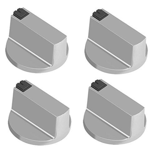 6mm Gasherd Knöpfe universal Zink Legierung Küche Herd Drehknopf Locks Ofen Schalter Kochfläche Control Eine Herde