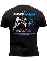 319e88c806f7 Dirty Ray Arts Martiaux Krav Maga t-shirt homme DT24