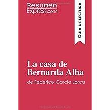 La casa de Bernarda Alba de Federico García Lorca (Guía de lectura): Resumen y análisis completo