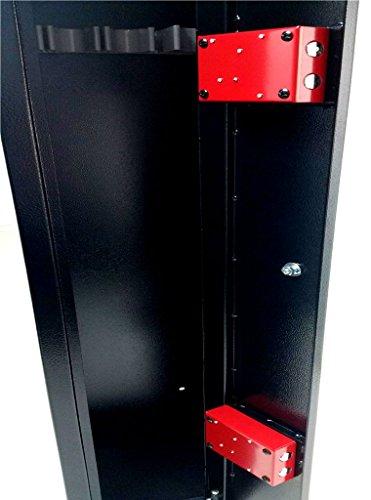 Progen 4Waffenschrank Safe Lock Aufbewahrungsbox für Schrotflinten Gewehr alle Feuerwaffe M1 - 5