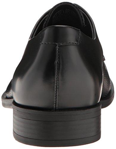 Calvin Klein Dorrel Box/Wave Grid Cuir Oxford Black