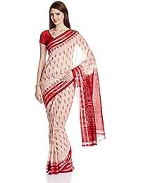 IndusDiva Nuapatna Cotton Handloom Saree