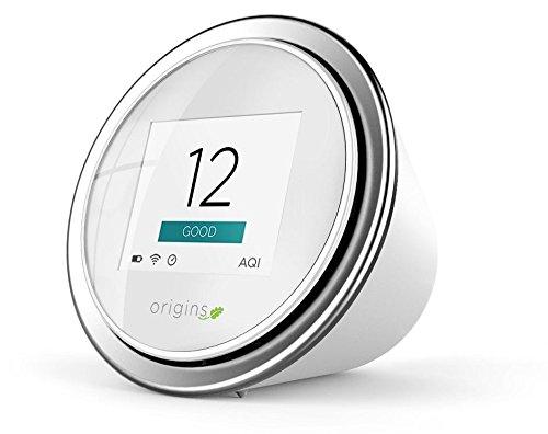 Fein polvere–Misuratore innovativo: laseregg. Qualità dell' aria Monitor con App per IOS e Android: gratuito di polveri sottili Sensor ermittelt Online innovativo mediante cartuccia la PM2,5e PM10valori