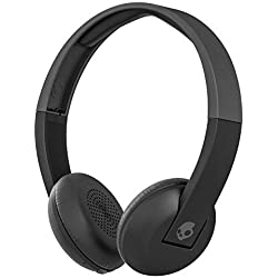 Skullcandy S5URHW-509 On-Ear Wireless Headphones with mic (Black)