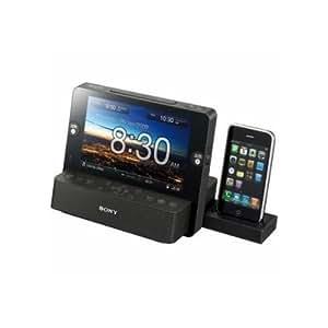 Sony ICF-CL75IP Haut-parleur Noir