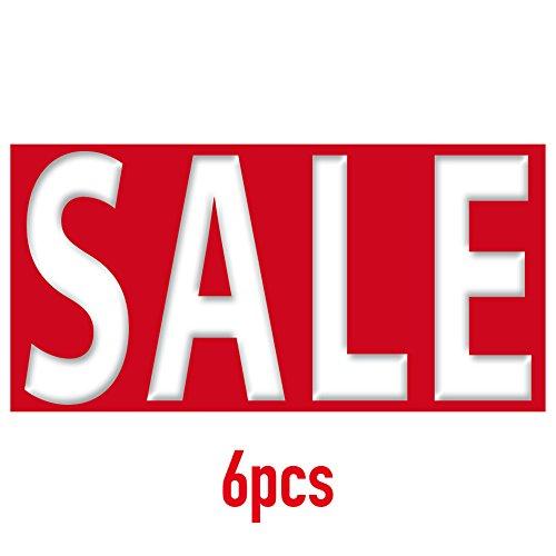 Aufkleber SALE Sticker 21cm x 10,5cm Werbung für Rabatt Prozent Verkauf Verkaufsaktion (6)