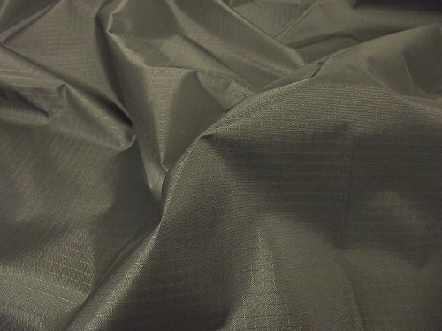 Waterproof RIPSTOP Nylon Fabric Material - BLACK for sale  Delivered anywhere in Ireland