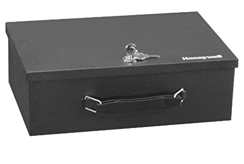 Honeywell 5L Fire Resistant Steel Security Box with 2